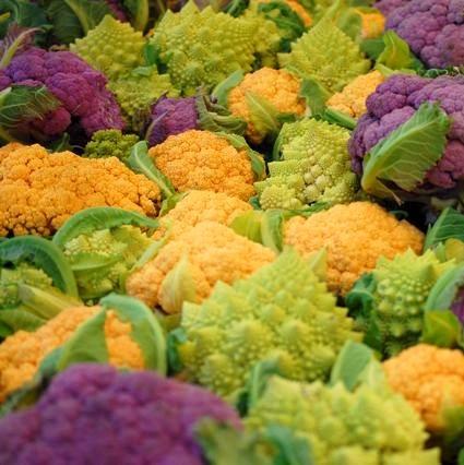 Snowy Cauliflower Seeds, VegetableSeeds, 100pcs/pack